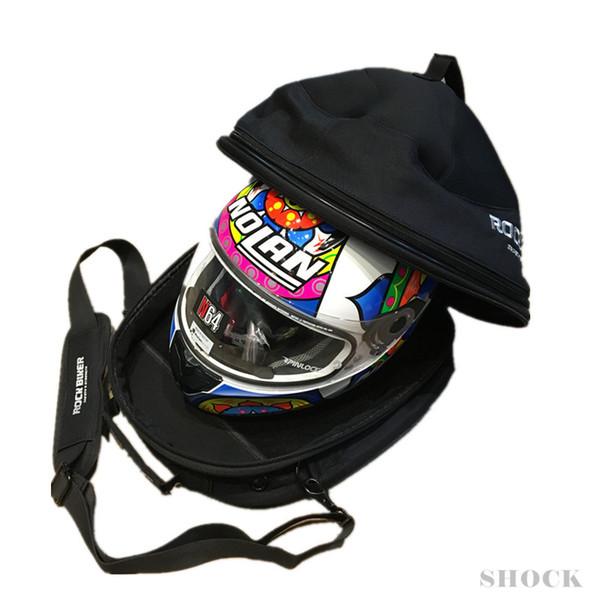 Motorcycle Helmet Bag Shoulder Bag Multifunction Motorbike Knight Riding Travel Luggage Case Handbag for Air-dry helmet tool bag