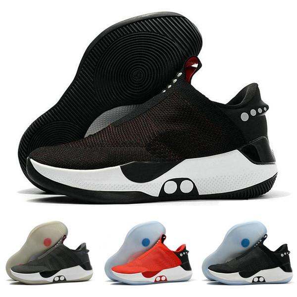 2019 Adapt BB Scarpe da pallacanestro Hyper nere rosse per uomo Scarpe da ginnastica sportive comode di alta qualità da uomo des Chaussures Zapatos Taglia 7-12