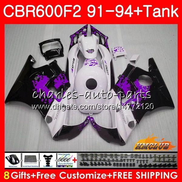 + Serbatoio per Honda CBR 600F2 600cc CBR 600 FS 40HC198 CBR600FS viola stock CBR600 F2 CBR600F2 1991 1992 1993 1994 F2 91 92 93 94 corredo della carenatura