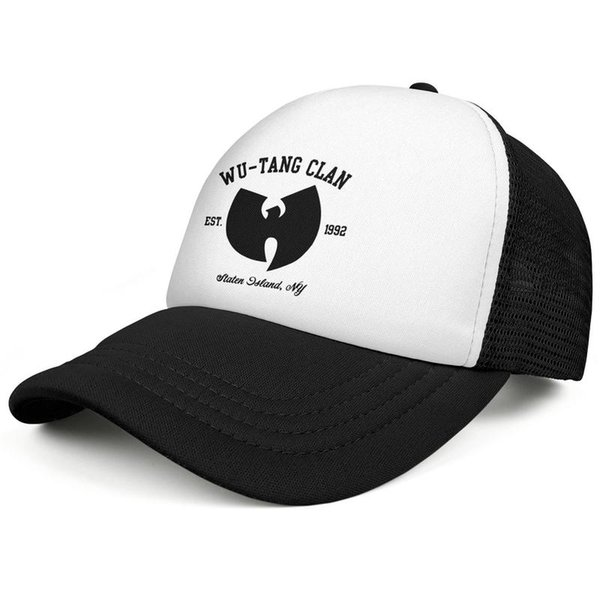 Baseball Wu Tang Clan Est 1992 black All Cotton Casual Dyed hat