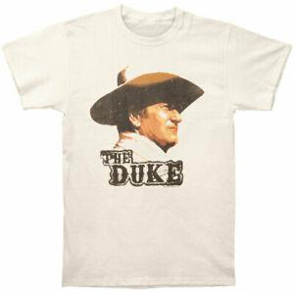 John Wayne Men 039 s Duke Slim Fit T shirt Large Vintage