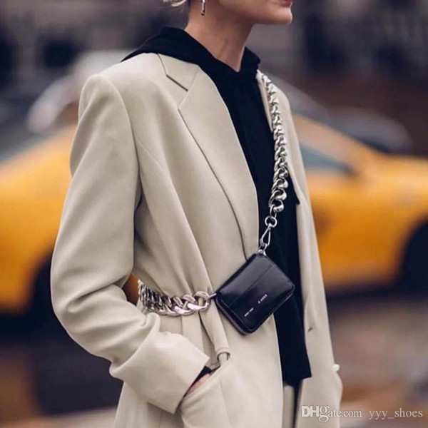 tıknaz zincir serbest gemi ile Moda Tasarımcısı lüks çanta kadınlar Mini omuz Çanta crossbody çantası, mini göğüs çantası