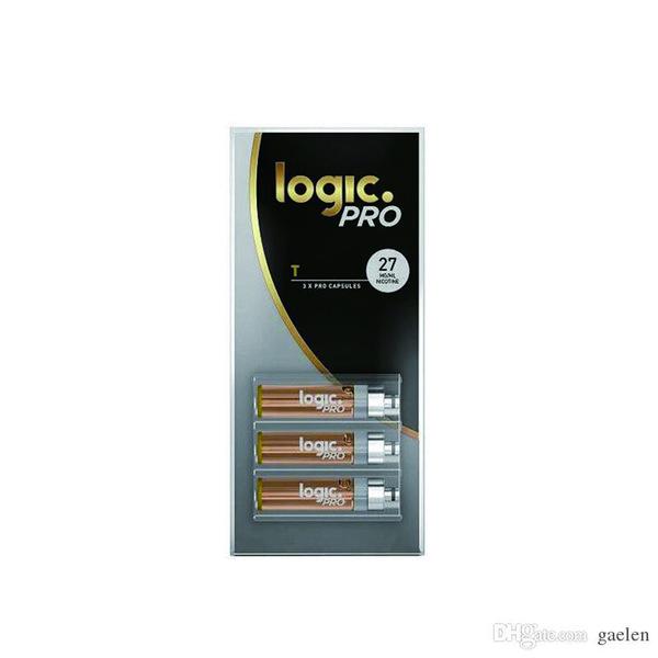 LOGIC Ecig LOGIC PRO REFILL 3X PREMIUM КАРТРИДЖИ 10Pack / LOT E CIG HOT SALE рынке США Vape PEN