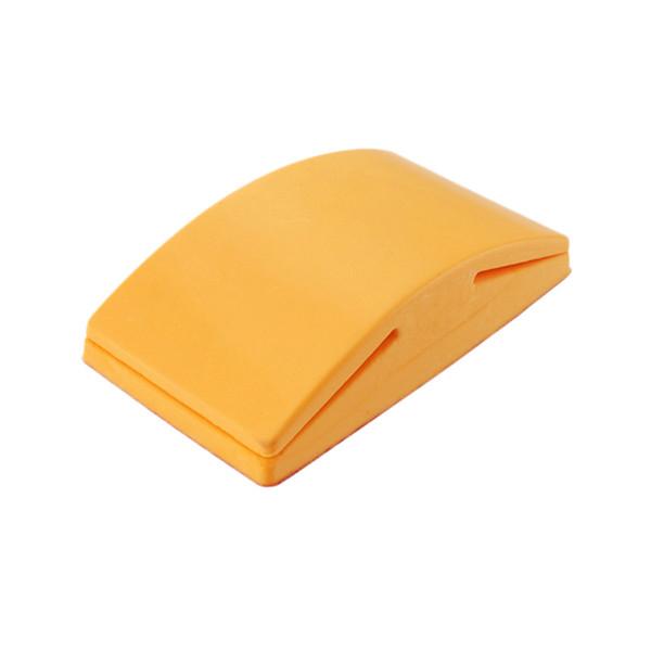 5-Zoll-Schleifblock Gummi Hook Schleife Stützteller Schmirgelpapier Halter Handschleifklotz Polierwerkzeuge