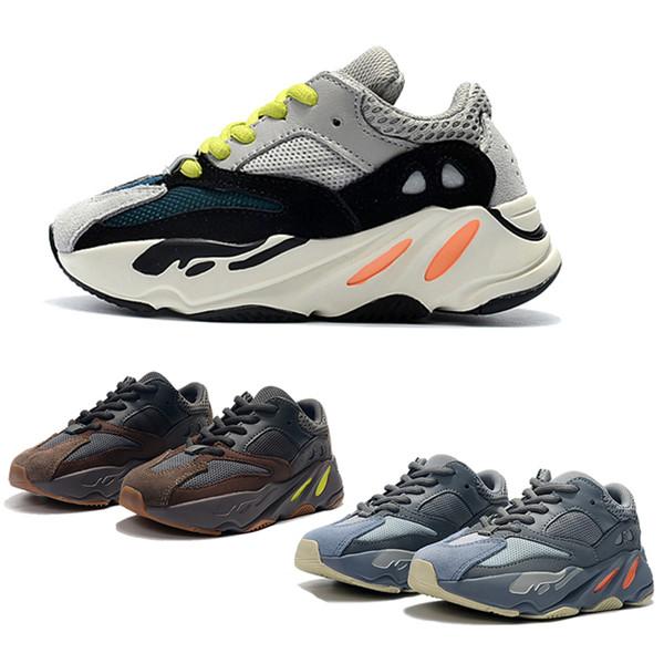 new arrival 58220 f5807 Compre Adidas Yeezy 700 Desert Rat Crianças Correndo Sapatos Kanye West  Wave Runner 700 V2 Juventude Sapatos Formadores 700 Esportes Sapatilhas  Sapato ...