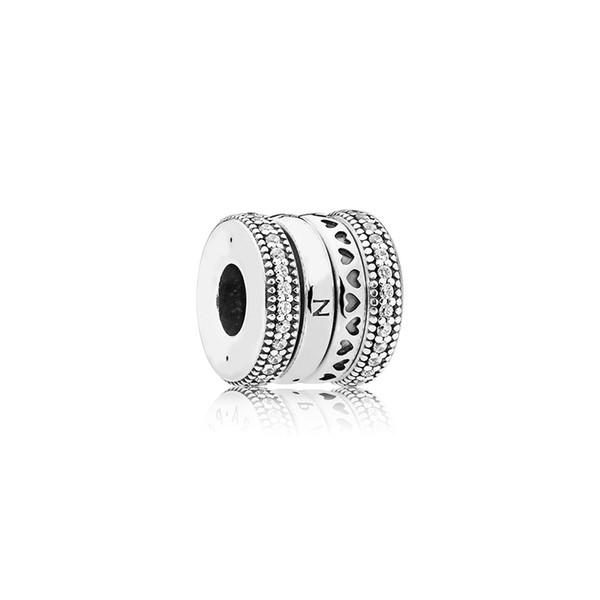 Acessórios de Jóias de luxo Novo Europeu Beads Encantos caixa Original para Pandora 925 Sterling Silver rotate Encantos Pulseira Colar Fazendo