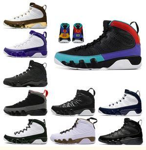High Quality 9 Dream It Do It UNC Bred Space Jam Basketball Shoes Men 9s Black Snakeskin The Spirit Anthracite Sneakers