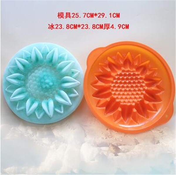 6 -cavity dount fish chocolate Cake Mold Silicone Soap Mold For Handmade Soap Candle Candy bakeware baking moulds kitchen tools ice molds