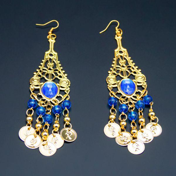 Royal blue-Earrings
