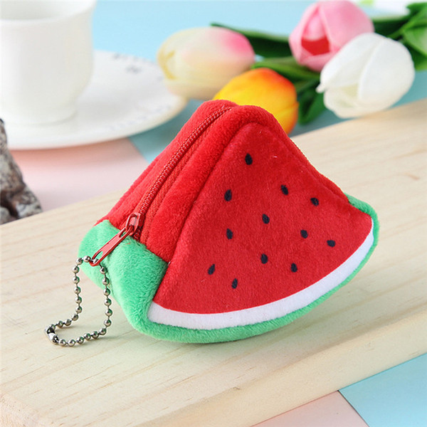 Auto Vehicle Key Case Cartoon Motorcycle Key Ring Creativity Plush Triangles Coins Bags Bags Decorations Car Accessories NEW