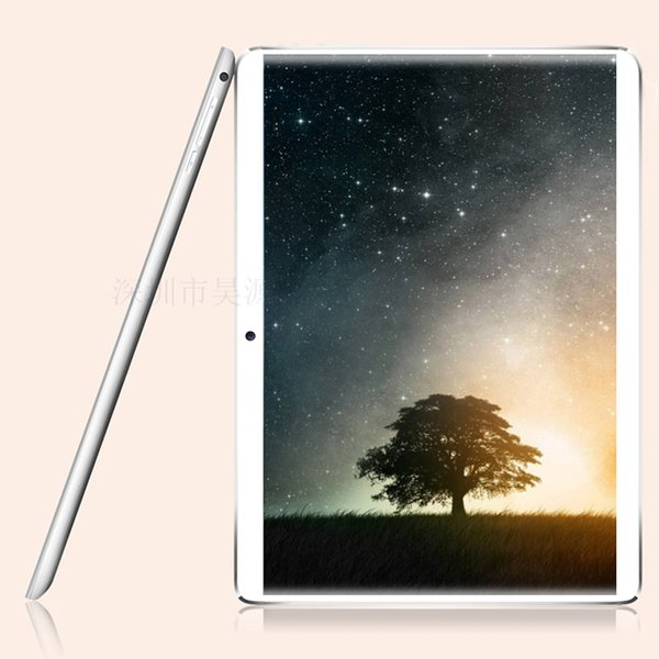 New 10.1 inch 4G lte tablet pc 3G PHONE call Android 7.0 Octa Core IPS 1920x1200 Tablets 4GB+64GB WiFi GPS 2.5D Tempered Glass