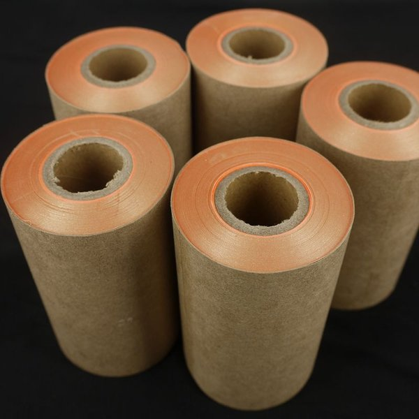 sheet material A roll Imitation gold leaf copper leaf foil the width 10-150 mm - new gold foil in roll decoration material