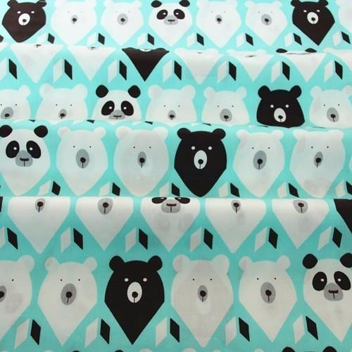 160CM*50CM cartoon cotton fabric sewing baby cloth infant linens kids bedding fabric cushion patchwork in style
