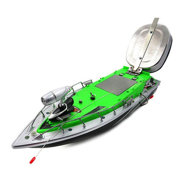 Ul Plug Boat Intelligent Wireless Electric Rc Pesca esca barca Remote Control Fish Finder Nave Searchlight Rc