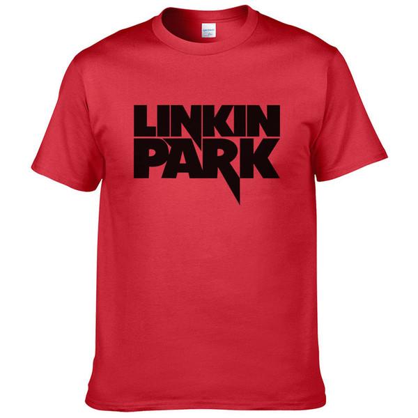 Summer Tees Linkin Park T-Shirt Herren Kleidung Kurzarm Mans T-Shirt Rockmusik Hip Hop Linkin Park T-shirts Junge Tops # 217