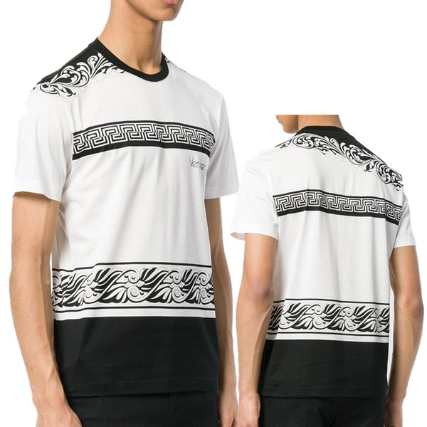 Yeni Kafatası marka Alman Erkekler gömlek En İyi kalite İtalya high-end giyim şekli mükemmel Asya Medusa erkek T-shirt kod boyutu M - 3XL
