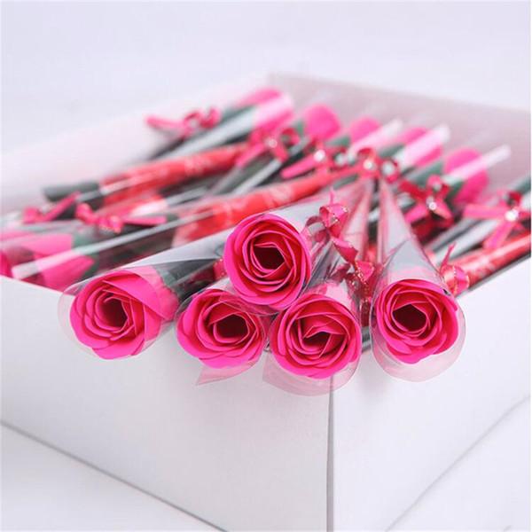 rojo de la rosa de la rosa