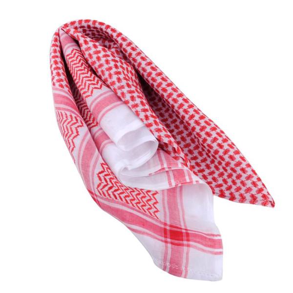 Una bufanda roja
