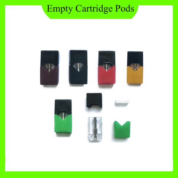 En gros désassemblé vide vape stylo cartouches Céramique Pods Pour JUUL cas de vape Start Kit DHL livraison gratuite 0266226-1