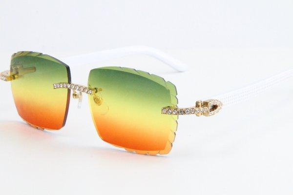 L'oro Lens Rosso Arancione Verde