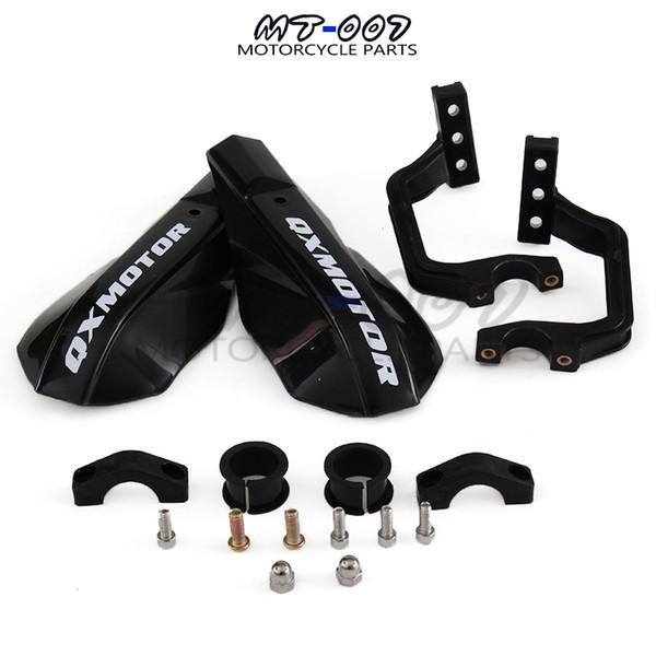 "best selling Black Plastic Handlebar Handguard Motorcycle Dirt Bike Motocross MX Supermoto WRF ATV Quad RMZ 7 8"" 22mm & 1-1 8 28mm"