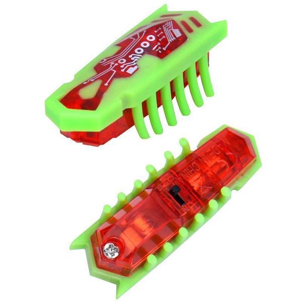 10 Pz Colore Casuale Nano Hexbug Electronic Pet Robotic Insetto Per Bambini Giocattoli per Bambini Esagonale Bug Verme Lotta Insetti Rettili Q190606