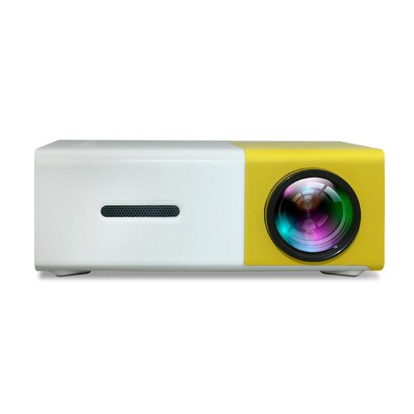 Ev Sineması Sinema 3.5mm Ses / HDMI / USB / SD Girdiler Projeksiyon Yeni için YG300 LED Projektör 3D HD Taşınabilir Mini Cep LCD Proyector
