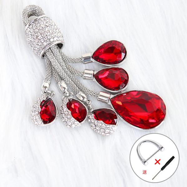 rouge porte-clefs