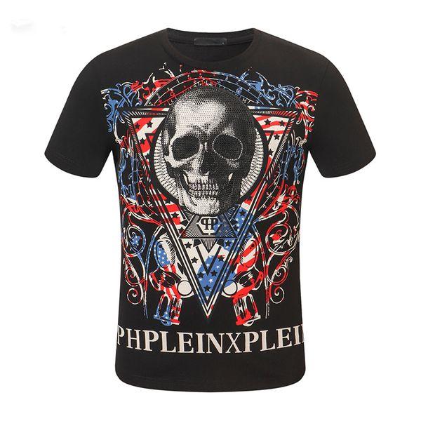 2020 Moda T Verão shirt dos homens de luxo camiseta Moda Casual fresco aptidão O pescoço Men Marca Camiseta Hip Hop roupas de manga curta