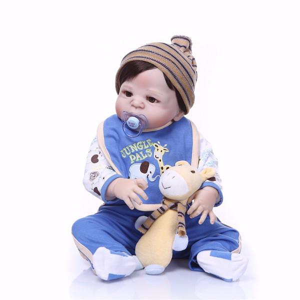 Bebe Reborn New design Doll Full Silicone Body Lifelike Princess Girl Doll Handmade Baby Toy Xmas Gifts
