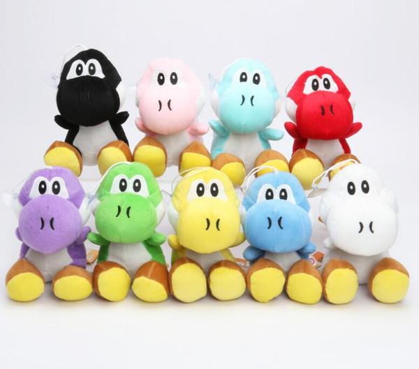 Super Mario Bros Sitting Yoshi Plush Doll Toys Yoshi Soft Stuffed Plush Dolls Hot Game Cartoon Dolls Kids Gifts TFA1223