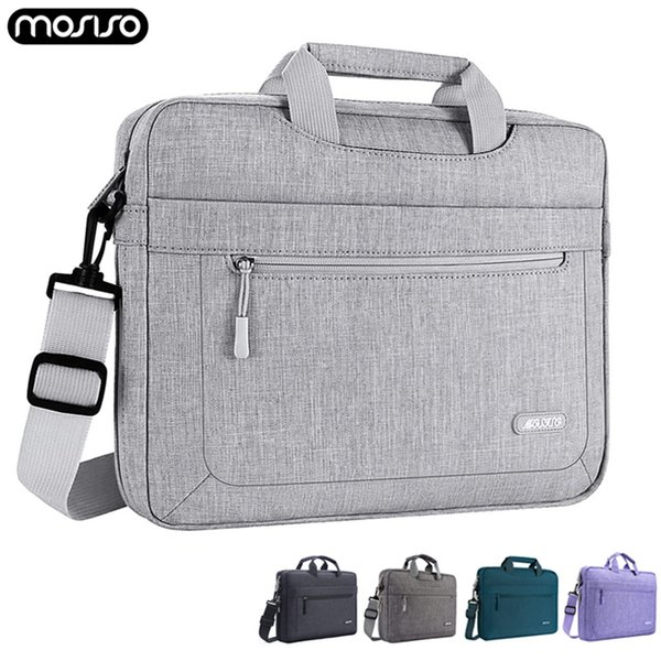 MOSISO Laptop Bag Case Waterproof Shoulder Handbag 13 14 15 17 inch Computer Bags Messenger Women Men Notebook Sleeve Briefcase