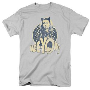 Venta al por mayor 60 039 s TV Show Cat Woman MEEYOW Julie Newmar Camiseta Todos los tamaños