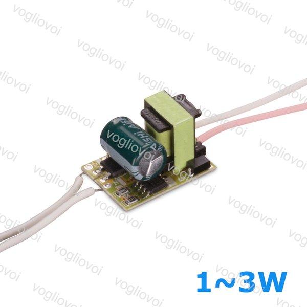 Led Trafo 300MA AC110 AC220V AC240V IP20 1 W 2 W 3 W Downlight Ampul Spotlight Için Inşa Sürücü PCB EPACKET
