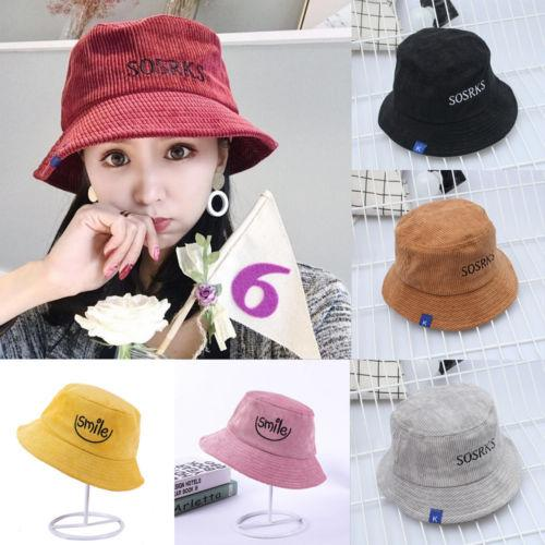 Fashion Men Women Summer Bucket Hat Flat Hunting Fishing Fisherman Outdoor Cap