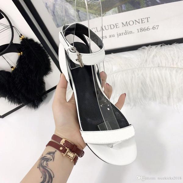 Cheap Luxury Designer Womens Summer Sandals Beach Slide Shoe Ladies Cool Creatures Shoes Print Leather All Black Pantoufles