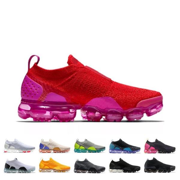 New Releases Moc 2.0 Running Shoes Men Women Triple Black White University Red Spirit Wheat Pink Fashion Trainer Sport Sneaker