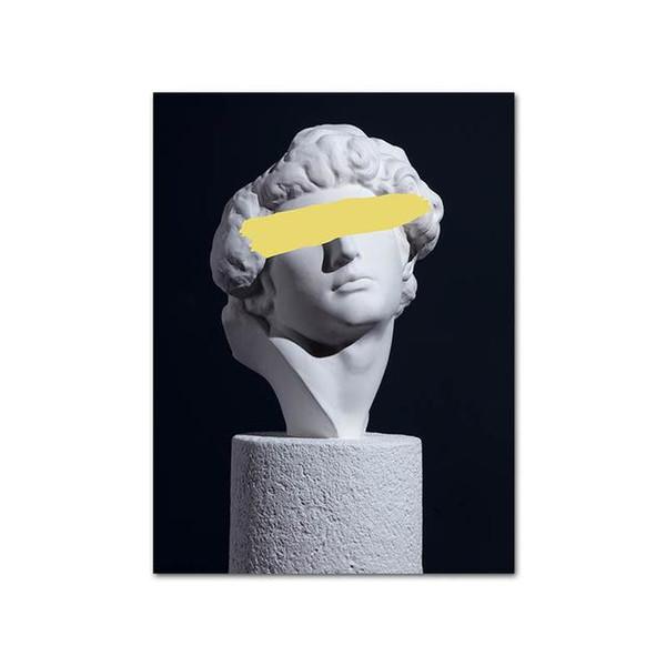 Skulptur gelb