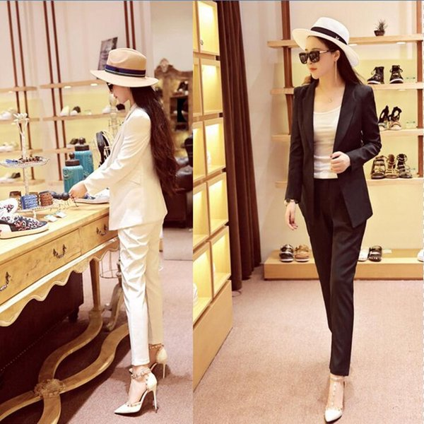 Customized the most popular elegant ladies suit three-piece suit (jacket + pants + vest) ladies business formal wear