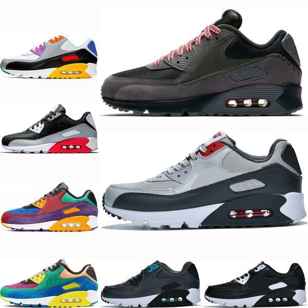 outlet on sale authorized site factory authentic Acheter Nike Air Max 90 Airmax Shoes Mixtape Hot Vendre Hommes ...