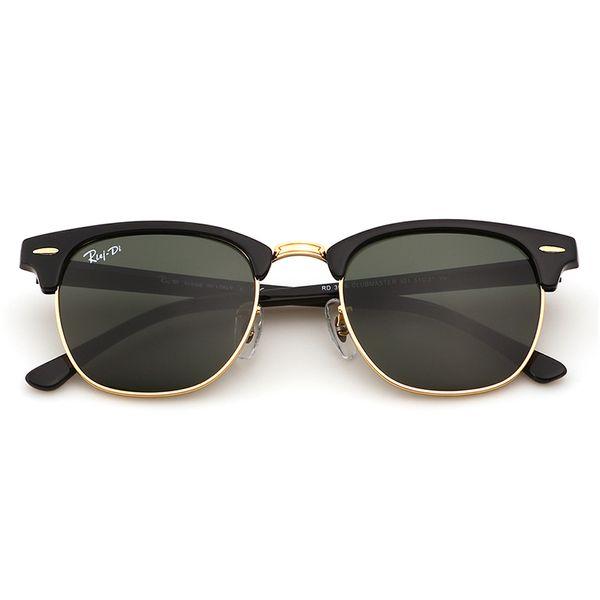 Fashion Club Sunglasses for Men Women Soscar Brand Designer Sunglasses Plank Frame Glass Lens UV400 High Quality Sport Sunglasses with Box