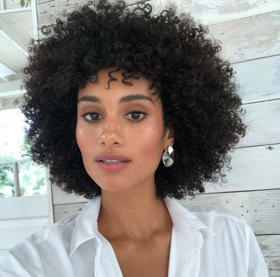 fashion hairstyle lady brazilian Hair African American kinky curly wigs Simulation Human Hair afro short curly wig for lady in stoc