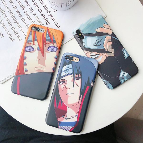 New Hot Venda Naruto anime japonês Casos Designer moda telefone capa para o iPhone X Max 7plus 8P 7 8 6P 6SP 6 6S Marca Hot Sale B104548V