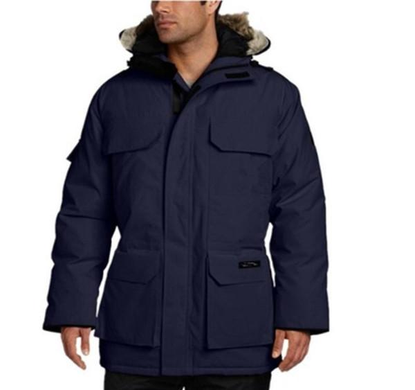 DHL Бесплатная доставка Новый стиль Relaxed Top Quality Канада Дизайнер Куртка PBI ЭКСПЕДИЦИЯ PARKA FUSION FIT мужчин зимние пальто вниз Doudoune ветровки