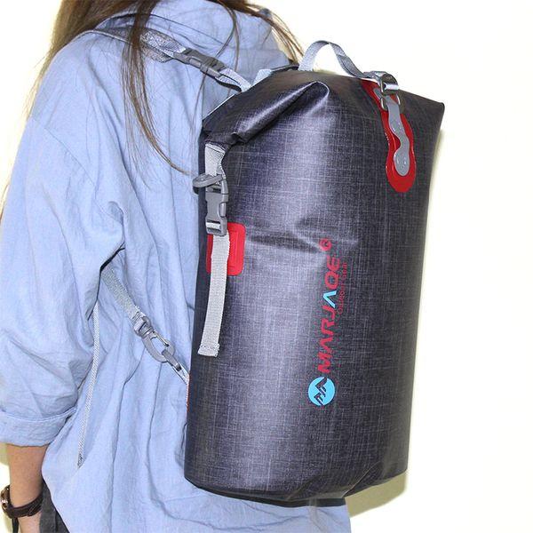 16L Wasserdichte Tasche Dry Bag Outdoor Swimming Speicher Rucksack Mann Sack Kajakfahren Driften Fluss Trekking Frauen Reisen