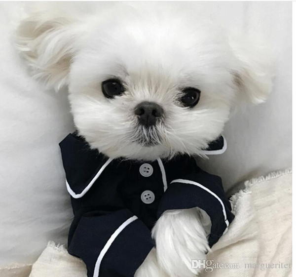 Summer French dog pajamas Pomeranian bear bullfighting small dog Teddy pet clothes shirt Feel Comfortable When Touched