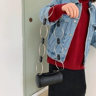 New Fashion Women Leather Messenger Bag Ring Handbag Ladies Small Crossbody Bags Women Famous Brands Designers Shoulder Bags