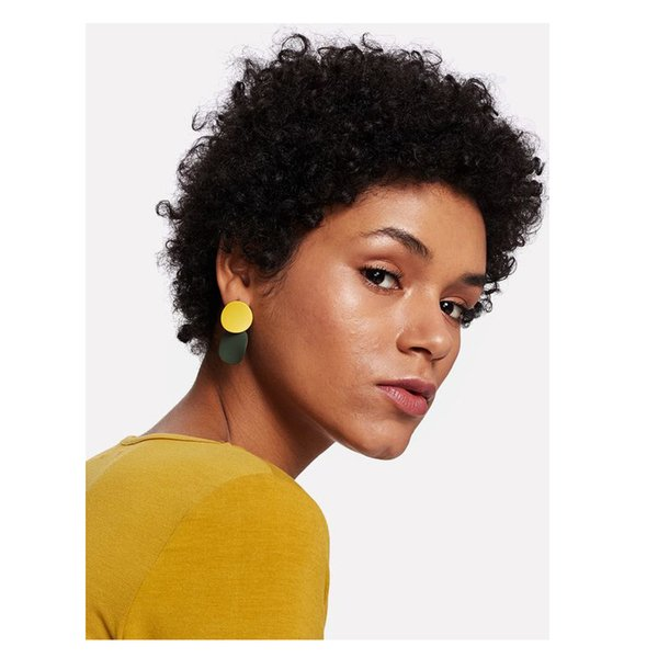 hot high quality short curly black wig African Americ brazilian Hair Simulation human hair short kinky curly wig for ladies