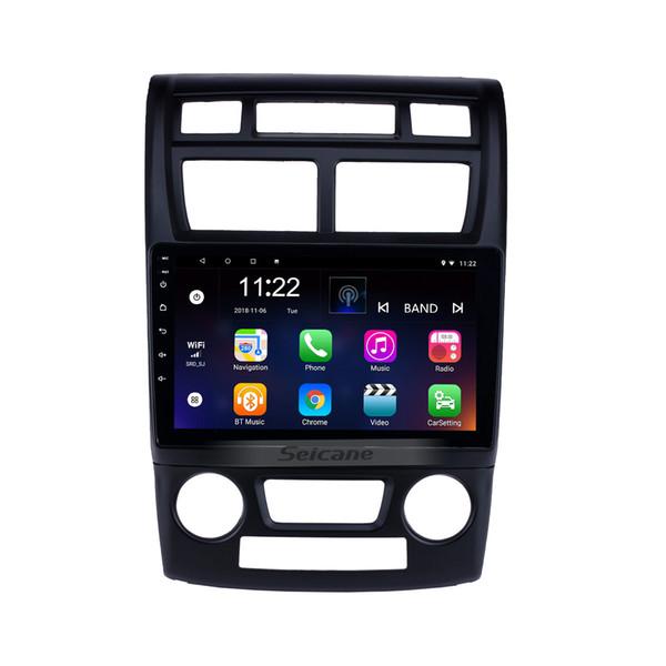 Android 8.1 9 Polegada Rádio Do Carro para 2007-2017 KIA Sportage Auto A / C com WIFI AUX USB Navegação GPS suporte DVR Backup Câmera TPMS OBD2 3G