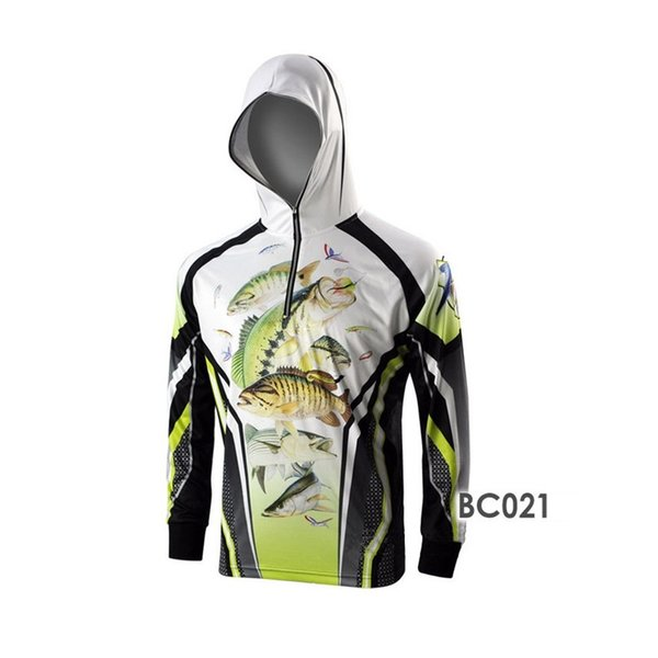 Outdoor Quick Dry Shirt Long Sleeve Man Woman Fishing T-shirt Camping Kiking UV Protection Jersey Shirt Sunscreen Fishing